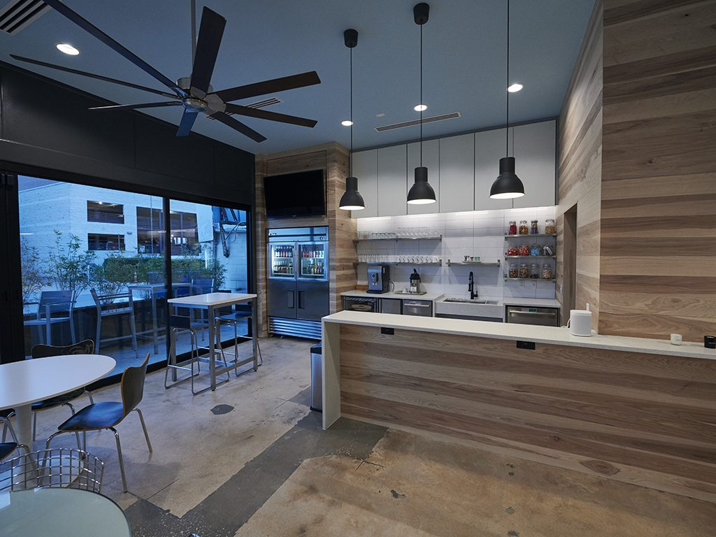 Commercial – Kitchen, Coffee bar, Lounge area