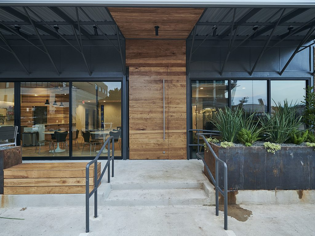 Store Front – Commercial Business Entrance